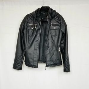 Therapy Faux Leather Jacket M (Vegan Friendly!)